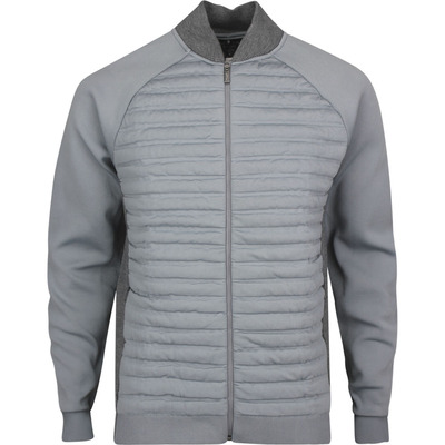 adidas Golf Jacket adiPure Quilted Hybrid Grey Htr SS20