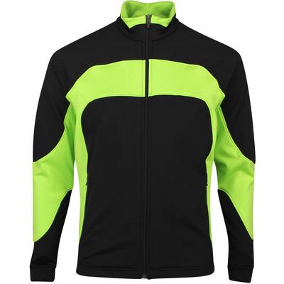Galvin Green Golf Jacket Damie Insula Black Lime SS20