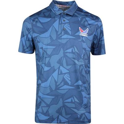 PUMA Golf Shirt Volition Americamo Polo Dark Denim SS20