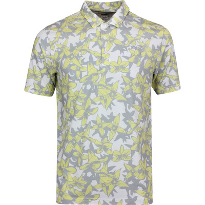 PUMA Golf Shirt Twelve Polo Yellow Iris Print LE SS20