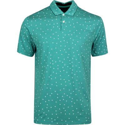 Nike Golf Shirt NK Dry Vapor Print Neptune Green SU20