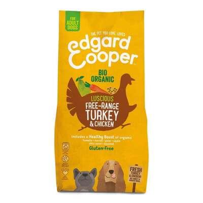 Edgard & Cooper Organic Turkey & Chicken Dog Kibble 2.5kg