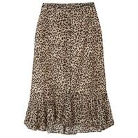 Jackie Silk Mix Skirt - Vintage Animal