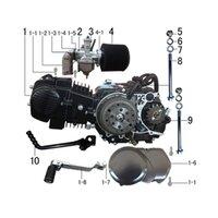 M2R KMX-R 160 Pit Bike Engine Bolt Lock Nut