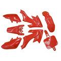 Pit Bike Plastics Set - CRF 50 - Red