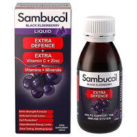 Sambucol-Extra-Defence-Vitamin-C-Zinc-Black-Elderberry-120ml