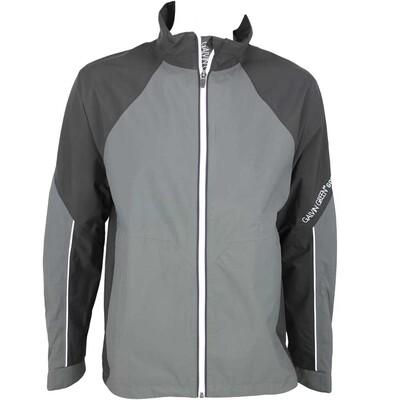 Galvin Green Amos Waterproof Golf Jacket Black Gunmetal