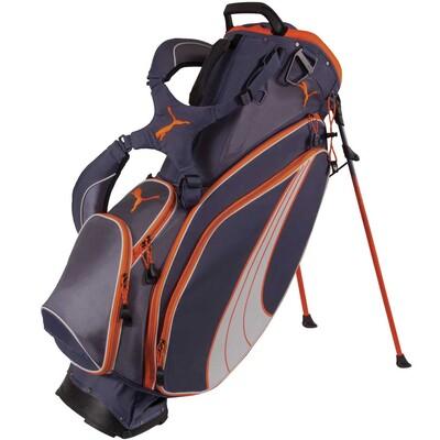 Puma Formstripe Golf Stand Bag Folkstone Grey Vibrant Orange AW15