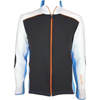 Galvin Green David Insula Golf Jacket Black Summer Sky AW15