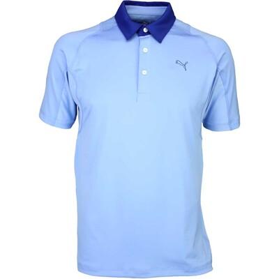 Puma Titan Tour Golf Shirt Della Robbia Blue AW15