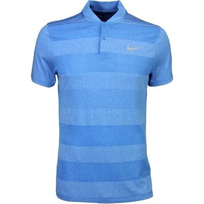 Nike Golf Shirt MM Fly BLADE Stripe Photo Blue SS16