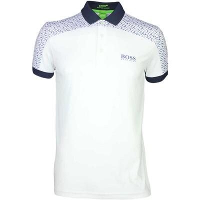Hugo Boss Golf Shirt Paddy Pro 2 Training White SP16