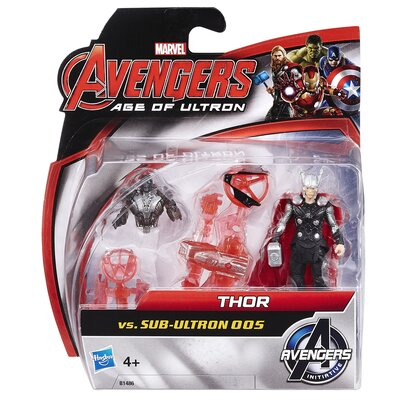 Marvel Avengers Age Of Ultron Thor Vs Sub Ultron 005 Action Figures