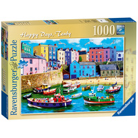 Image of Ravensburger Happy Days - Tenby, 1000pc Jigsaw Puzzle