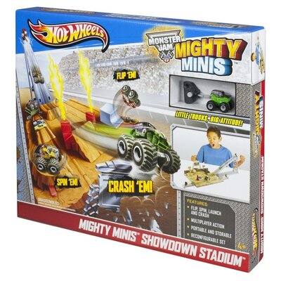 Hot Wheels   Mighty Minis Showdown Stadium
