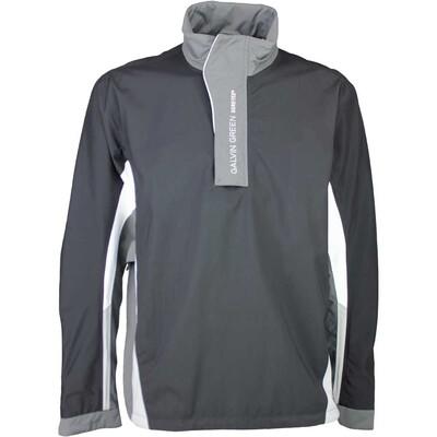 Galvin Green Waterproof Golf Jacket ALBIN Black Iron Grey