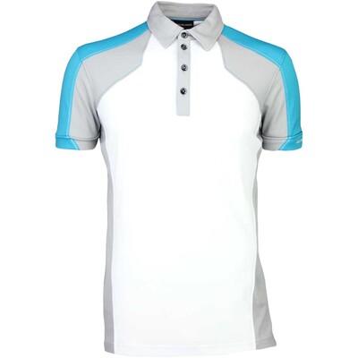 Galvin Green Golf Shirt MARCUS Lagoon Blue SS16