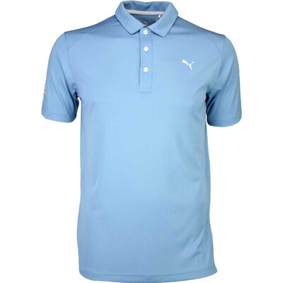 Puma Golf Shirt Cobra Branded Pounce Blue Heaven SS16