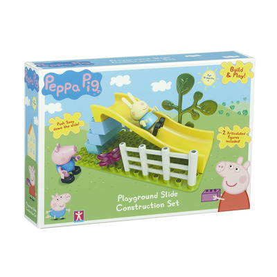 Peppa Pig Playground Slide Construction Set