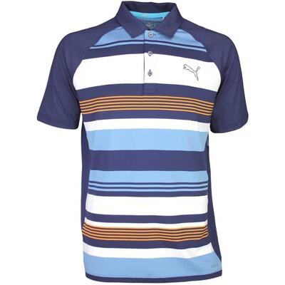 Puma Golf Shirt GT Road Map Peacoat SS16