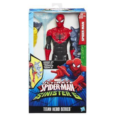 Spider Man Titan Hero Spiderman Vs Sinister 6   Spider Man With Gear