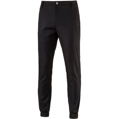 Puma Golf Cuffed Trousers Rickie Fowler Joggers Black 2016