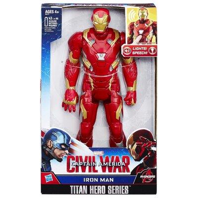 Marvel Captain America: Civil War Iron Man Electronic Titan Hero Series Figure