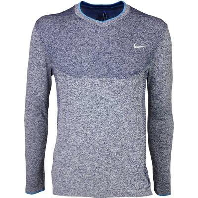 Nike Golf Jumper Flex Knit V Neck Midnight SS16
