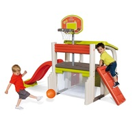 Smoby Outdoor Fun Multi-Activity Play Centre Includes Free Ball