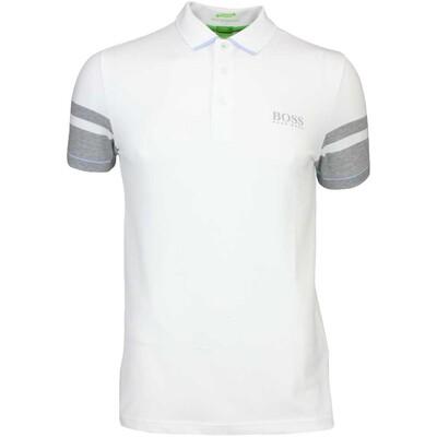 Hugo Boss Golf Shirt 8211 Paule Pro 1 Training White PF16