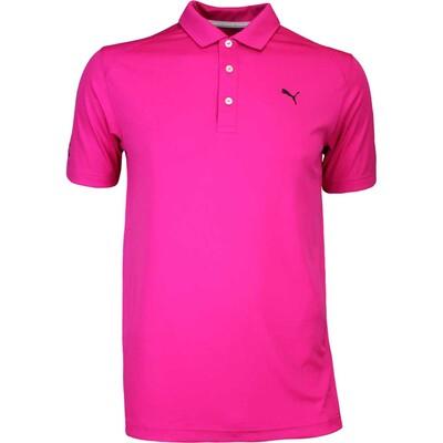 Puma Golf Shirt Cobra Branded Pounce Beetroot AW16
