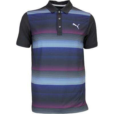 Puma Golf Shirt GT Road Map Black AW16