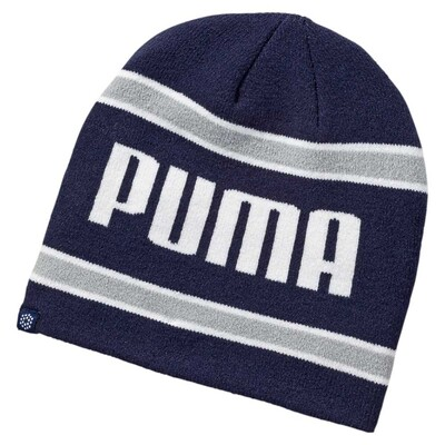 Puma Golf Beanie PWRWARM Stripe Peacoat AW16