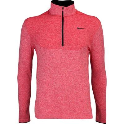 Nike Golf Pullover Flex Knit Zip University Red AW16