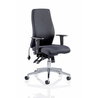 Image of Onyx Posture Chair Black Fabric