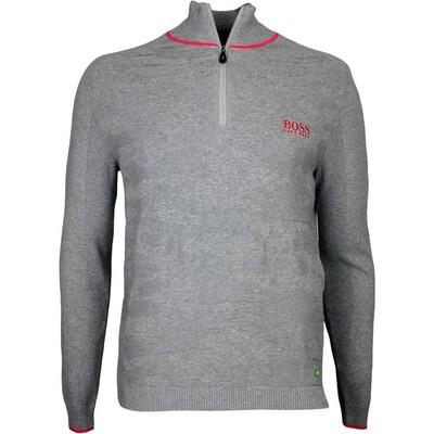 Hugo Boss Golf Jumper Zayo MK Grey Melange FA16