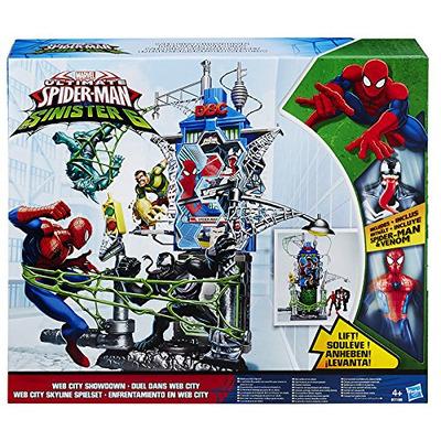 Spider Man Web City Showdown Playset