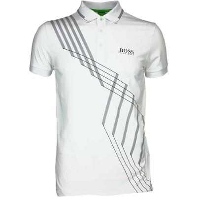 Hugo Boss Golf Shirt Paule Pro 4 Training White FA16