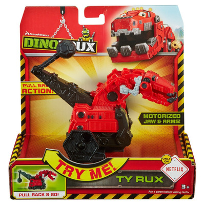 Dinotrux Pull Back & Go Ty Rux Vehicle