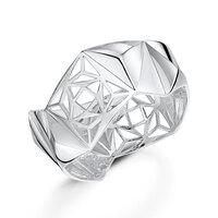 ROX DNA Silver Bangle