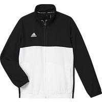 Image of Adidas T16 Youths Team Jacket BlackWhite 10 Years