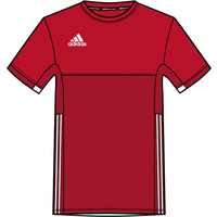 Image of Adidas T16 Mens Clima Cool Tee Red XS