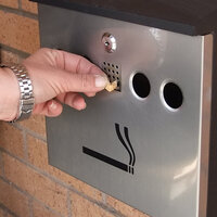Cigarette Waste Bin
