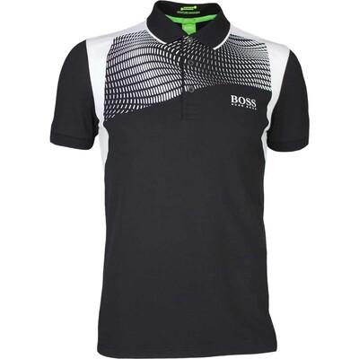 Hugo Boss Golf Shirt Paddy Pro 1 Black PS17