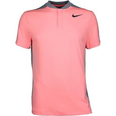 Nike Golf Shirt MM Fly Aeroreact Blade Lava Glow SS17