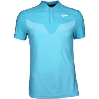 Nike Golf Shirt Zonal Cooling MM Fly Blade Chlorine SS17
