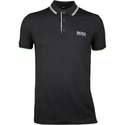 Hugo Boss Golf Shirt Paddy Pro Black SP18