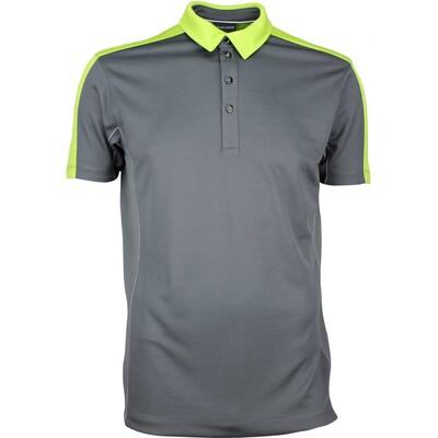 Galvin Green Golf Shirt MIKE Ventil8 Plus Iron Grey SS17