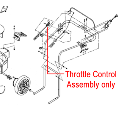 Billy Goat Billy Goat Throttle Control Assembly 900343S