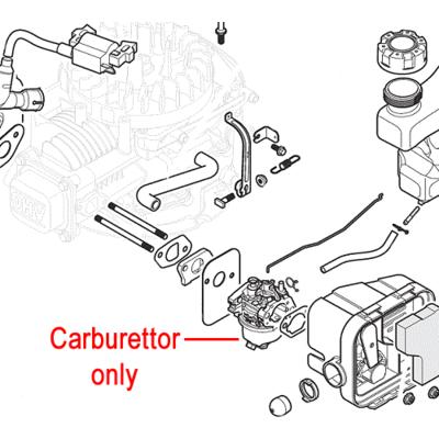 Mountfield Mountfield WB45 / ST45 Engine Carburettor 118550926/0